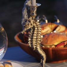 Seahorse Candlestick | Vagabond House | O101T