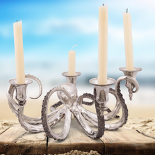 Octopus 4 Socket Candelabrum Candle Holder | Vagabond House | O101X