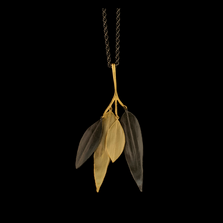 "Cordyline 18"" Adjustable Branch Pendant Necklace 