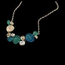 "Drift Away 16"" Adjustable Pebble Necklace | Nature Jewelry | Michael Michaud | 9249S"