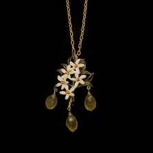 Lemon Drop Combination Pin & Pendant | Nature Jewelry | Michael Michaud | 5979BZ