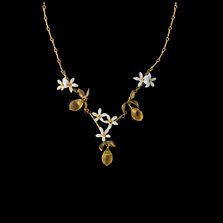 Lemon Drop Necklace | Nature Jewelry | Michael Michaud | 9224BZ