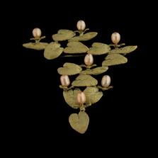 Water Lily Pin | Nature Jewelry | Michael Michaud | 5983BZ