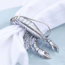Prawn Napkin Ring Set of Four | Vagabond House | O115P