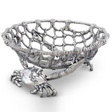 Crab and Net Fruit Basket | Arthur Court Designs | 123C12