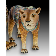 Lion Mama Figurine | FimoCreations | FCFLIM