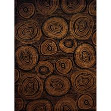 "Wood Log Pattern Area Rug ""Timber Lodge"" | United Weavers | 750-05943"