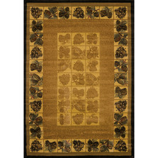 Pine Cone Area Rug Natural | United Weavers | 530-43717