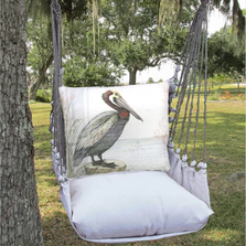 "Pelican Hammock Chair Swing ""Latte"" 