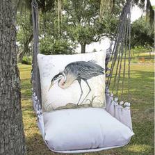 "Crane Hammock Chair Swing ""Latte"" | Magnolia Casual | LTSW903-SP"
