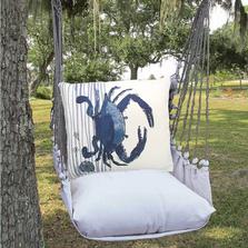"Crab Hammock Chair Swing ""Latte"" | Magnolia Casual | MCLTRR915-SP"