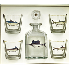 Game Fish Decanter Set | Richard Bishop | 2039GF