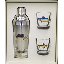 Game Fish Cocktail Shaker Set | Richard Bishop | 2037GF
