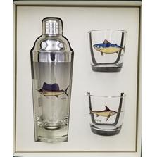 Game Fish Cocktail Shaker Set | Richard Bishop | 2037GF