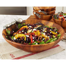 Garden Veggie Salad Serving Bowl | Vagabond House | G212CL