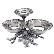 Grape 3-Tiered Bowl | Arthur Court Designs | ACD103584