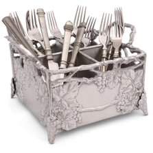 Grapevine Aluminum Flatware Caddy | Arthur Court Designs | 103928