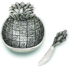 Pineapple Aluminum Dip Dish | Star Home Designs | 41662