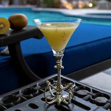 Octopus Stemmed Cocktail Glass Set of 4 | Vagabond House | O2446T