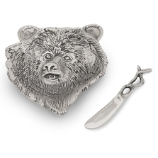 Lakeside Bear Aluminum Dip Dish With Spreader | Star Home Designs | 41935