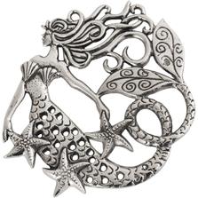 Ocean Mermaid Aluminum Trivet | Star Home Designs | 42279