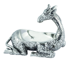 Safari Giraffe Aluminum Bowl Star | Home Designs | 42119