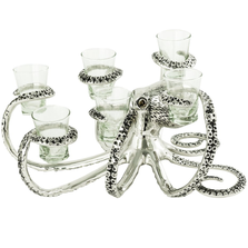 Octopus Aluminum Shot Glass Holder | Star Home Designs | 42237