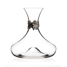 Grape Leaf Crystal Wine Decanter | Menagerie | M-MWD-G1919