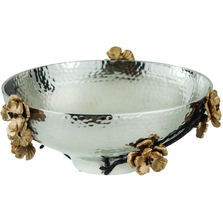 Wild Blossom Aluminum Serving Bowl | Star Home Designs | 40261