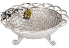 Bumble Bee Aluminum Centerpiece Bowl | Star Home Designs | 42292