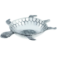 Ocean Turtle Large Aluminum Bowl | Star Home Designs | 42128