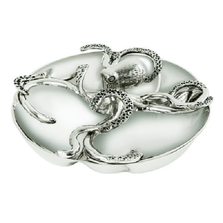 Octopus Aluminum 4 Section Serving Bowl | Star Home Designs | 42236