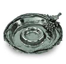 Birds and Branches Aluminum Chip and Dip Tray | Star Home Designs | 41212