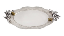Bumble Bee Aluminum Oval Platter | Star Home Designs | 42290