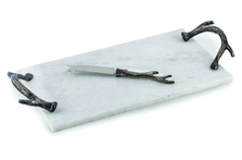 "Antler Marble Cheese Board ""Woodland"" 
