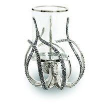 Octopus Hurricane Glass Candleholder | Star Home Designs | 41925