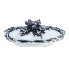 "Bird and Acorn ""Home For The Holidays"" Aluminum Serving Bowl 