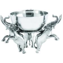 Elephant Aluminum Centerpiece Bowl | Star Home Designs | 42136