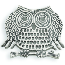 Owl Aluminum Trivet | Star Home Designs | 41887