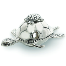 Turtle Aluminum Covered Jar | Star Home Designs | 41885