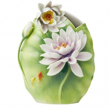 Water Lily Porcelain Vase | Pure Grace | FZ03719 | Franz Collection