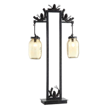 Pinecone Fire Catcher Table Lamp | Crestview Collection | CVCCVAER741