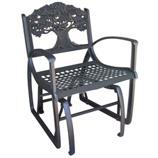 Tree Cast Iron Glider Chair   PDC-TR   Painted Sky Designs