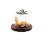 Octopus Cheese Board with Glass Dome | Vagabond House | VHCO236KP -1