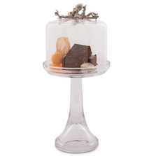 Octopus Dessert Stand with Glass Dome | Vagabond House | VHCO445TKP-1