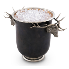 Elk Bronze Ice Bucket | Vagabond House |  VHCB503EK