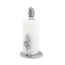 Squirrel Aluminum Paper Towel Holder | Arthur Court Designs | ACD293L12