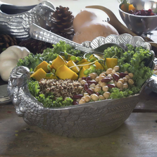 Turkey Salad Serving Bowl | Arthur Court Designs | 128H11