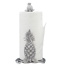 Pineapple Aluminum Paper Towel Holder | Arthur Court Designs | 550070