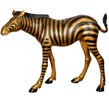 Zebra Baby Bronze Sculpture | Metropolitan Galleries | SRB15088